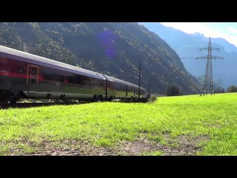 "Arlberg Bahnverkehr am 17.09.14 – ""Ski Austria railjet, VSOE uvm."""