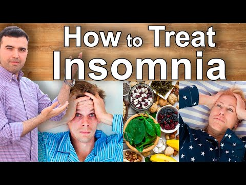 Insomnia Home Remedies - Natural Treatments for Insomnia, Sleep, the Lack of Sleep and Sleeplessness