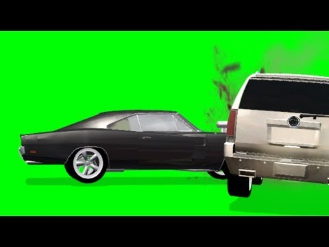 Car Crash FX Effect with sound - green screen thumbnail