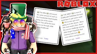 NEW ROBLOX JAILBREAK MINT BANK ROBBERY UPDATE