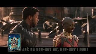Czarna Pantera - oficjalny spot Blu-ray 3D, Blu-ray i DVD
