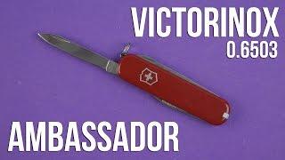 Розпакування Victorinox Ambassador