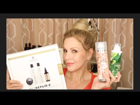 IGK Hair Products~A BUN Tutorial ~Lanza~ THINNING Hair~Scalp Health!
