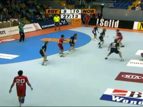 Handball World Cup 2007 Egypt - Norway