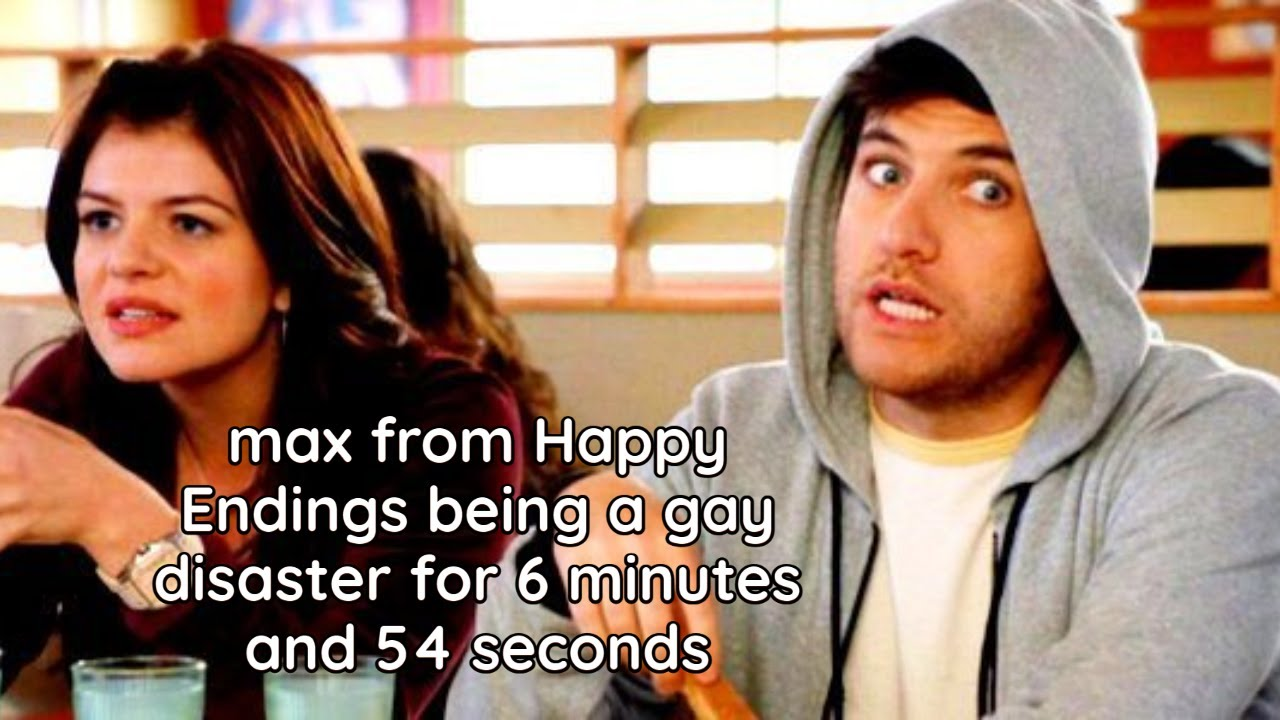 Download max from Happy Endings being a gay disaster for 6 minutes and 54 seconds