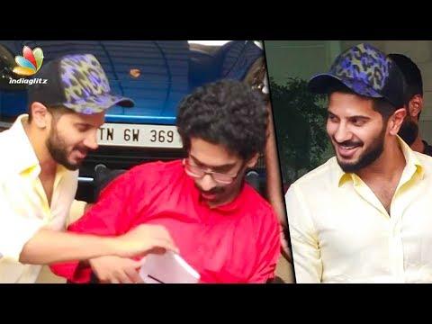 ആരാധകനു വീൽ ചെയർ സമ്മാനിച്ച് ദുൽഖർ   Dulquer Salmaan gifted a wheelchair for his fan