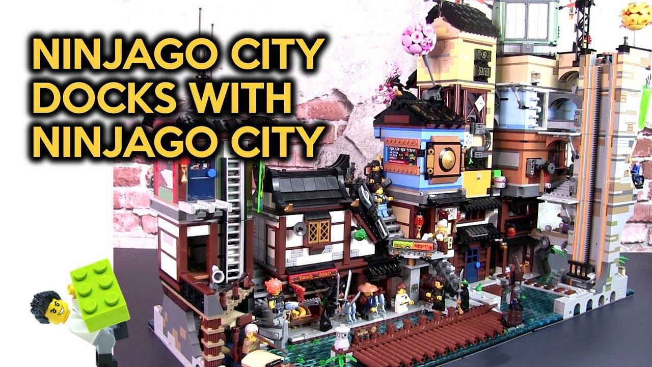 Setting The Lego Ninjago City Docks With Ninjago City