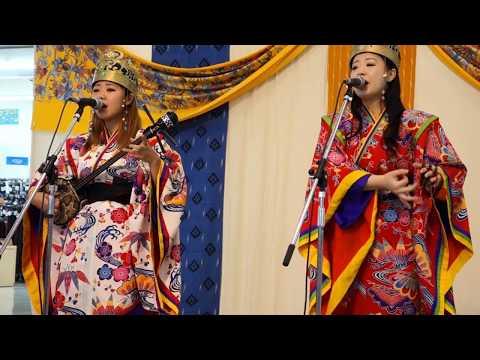 大東人(だいとぅんちゅ)② 曲:ヒヤミカチ節 10代姉妹の沖縄民謡ユニット!(南大東島出身)