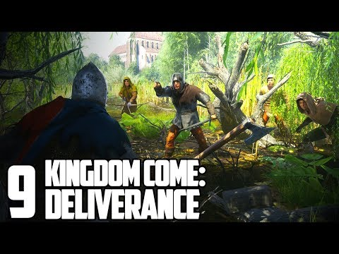4 VS 1! IT GOES REALLY WELL! (I'M LYING) | Kingdom Come: Deliverance Gameplay Let's Play #9
