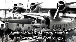 China Clipper Inaugural Passenger Flight 1936 Part 1
