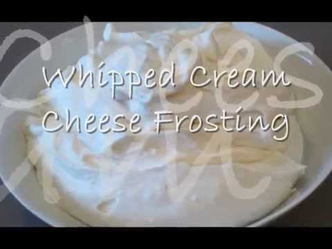 how to make whipped cream frosting for wedding cake how to make light and fluffy cheese 16063