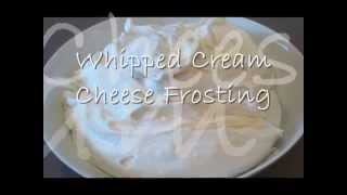 How To Make - Light And Fluffy Whipped Cream Cheese Frosting  | Borrowed Delights - Episode 10