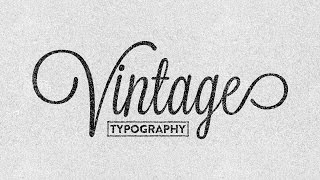 creating vintage typography easily illustrator cc 2014