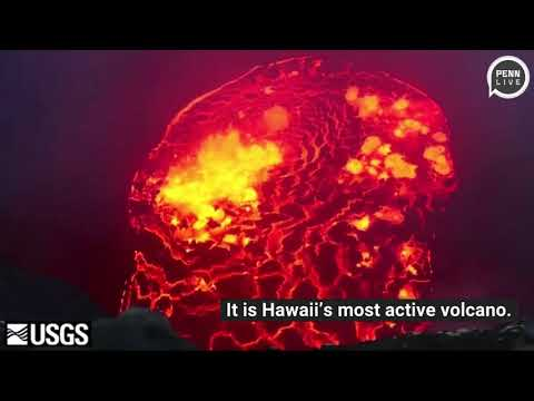 Hawaii volcano may spew big rocks, poison gas and ashes