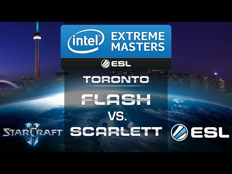 Flash vs. Scarlett (TvZ) - IEM Toronto 2014 - Group D - Star