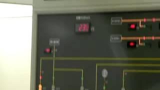 黒部川第四発電所 制御室 黒部ルート見学