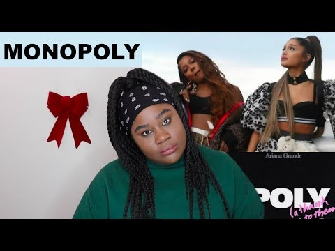 Ariana Grande x Victoria Monét - Monopoly REACTION