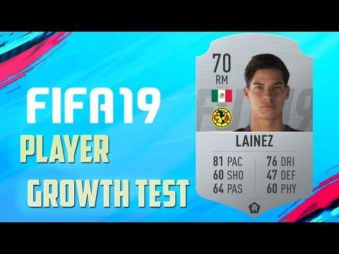FIFA 19 | Diego Lainez | Growth Test