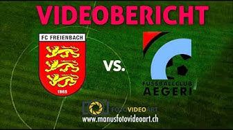Videobericht (FC FREIENBACH vs. FC AEGERI) 28.10.2018 - MANU's Foto Video Art