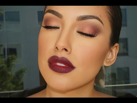 Fall Glam Look Makeup Tutorial  Brown Eyes  Zuleyka Silver