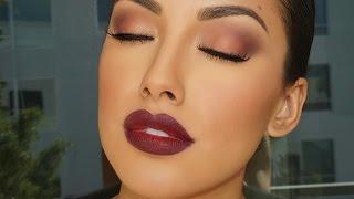 Fall Glam Look Makeup Tutorial | Brown Eyes | Zuleyka Silver