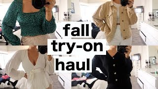 HUGE TRY ON CLOTHING HAUL 2019