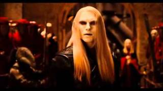 Prince Nuada's anti-human speech
