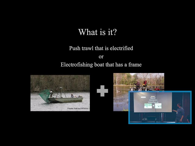 Electrified Dozer Trawl for Silver and Bighead carp Sampling
