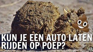Kun je een auto laten rijden op poep?   De Buitendienst over afval