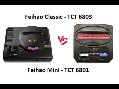 FEIHAO - Mini vs Normal Som e Vídeo - AV [Descrição]