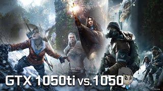 GTX 1050 TI vs 1050 \ Comparison with 10 Games \ GTA V to ME Andromeda