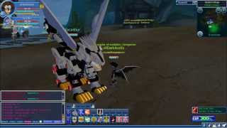 Repeat youtube video Digimon Masters Online Liger Zero