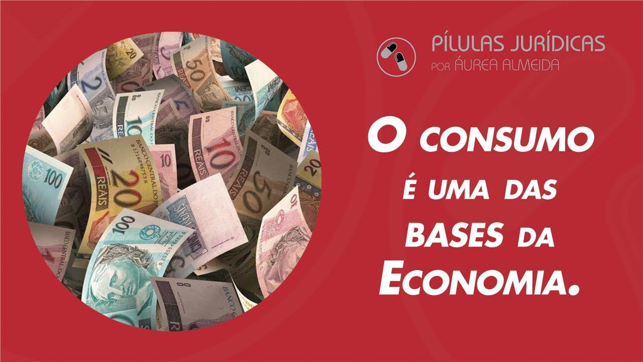 O consumo é uma das bases da Economia