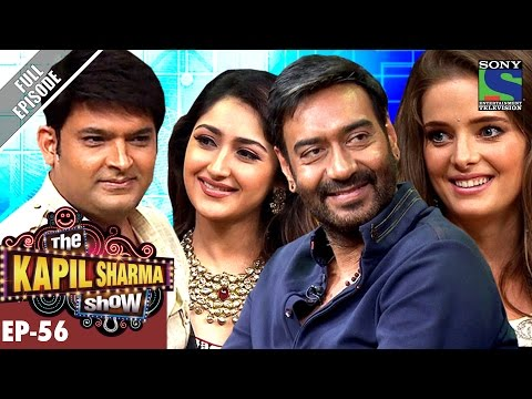 The Kapil Sharma Show - Episode 56–दी कपिल शर्मा शो–Team Shivaay In Kapil's Show–30th Oct 2016