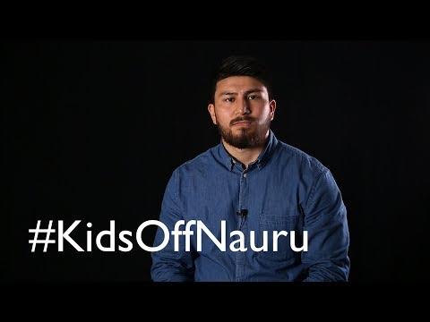 Get the #KidsOffNauru