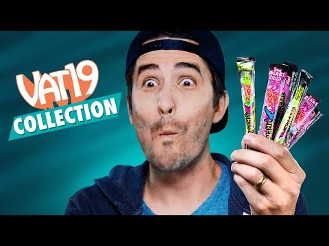 7 Extreme Candies (ft. Sour Pop Rocks)