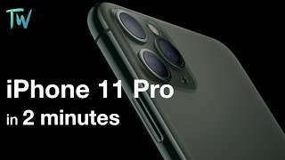 iPhone 11 Pro in less than 2 min | 2 min series - TrendigoWeebo
