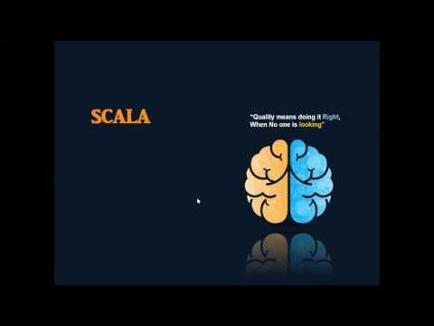 Hello World in Scala