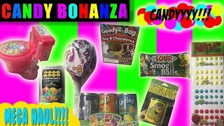 Three handed Candy Bonanza / Epic Haul! Bug Tape! Toilet Bowl Candy! and many more !