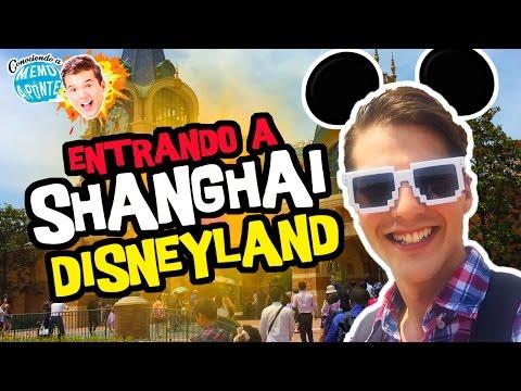 Entrando a Shanghai Disneyland / Mickey Avenue / Memo Aponte