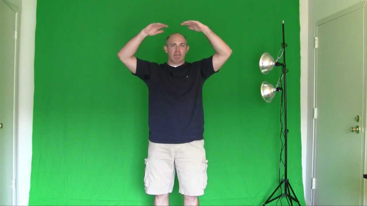 How to Make a Green Screen
