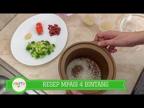 RESEP BUBUR MPASI 4 BINTANG (FOUR STAR WEANING FOODS RECIPE)