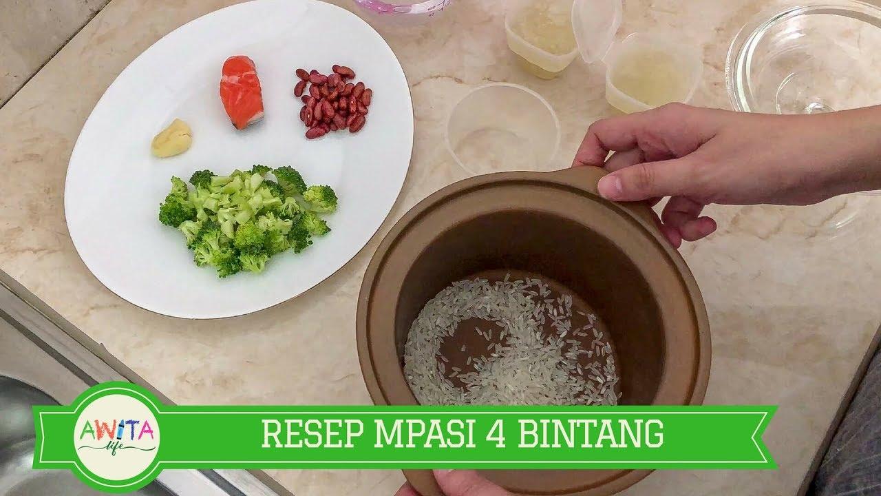 Resep Bubur Mpasi 4 Bintang Four Star Weaning Foods Recipe Youtube