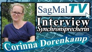 SagMalTV // Interview Synchronsprecherin: Corinna Dorenkamp