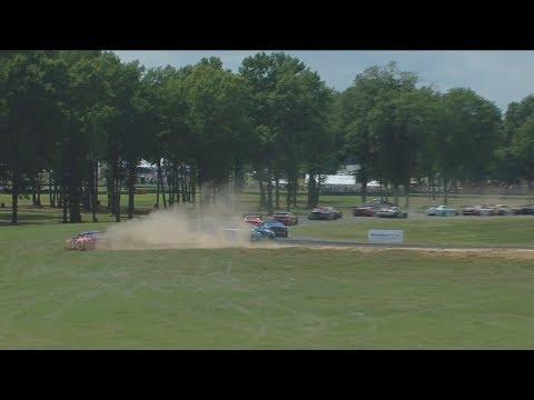 IMSA WeatherTech SportsCar Championship 2017. Virginia International Raceway. Start Spins