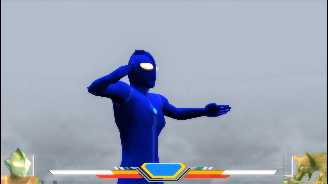 Ultraman ĐIỆN MÁY XANH đã trở lại tiêu diệt quái vật | Sieu nhan game play
