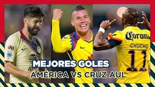 Mejores goles de América vs Cruz Azul