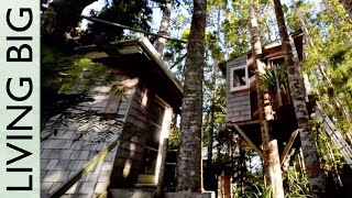 Incredible Diy Tiny Tree House Tour