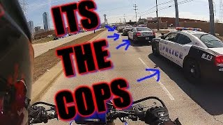 So many COPS and my wheel falls off!