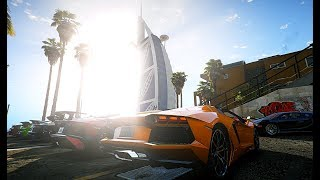 GTA V | DUBAI SUPERCARS MEET IN BURJ AL ARAB ✪